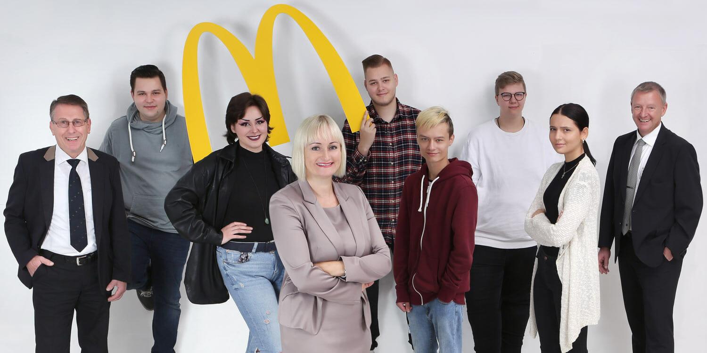 Gruppenbild McDonald's