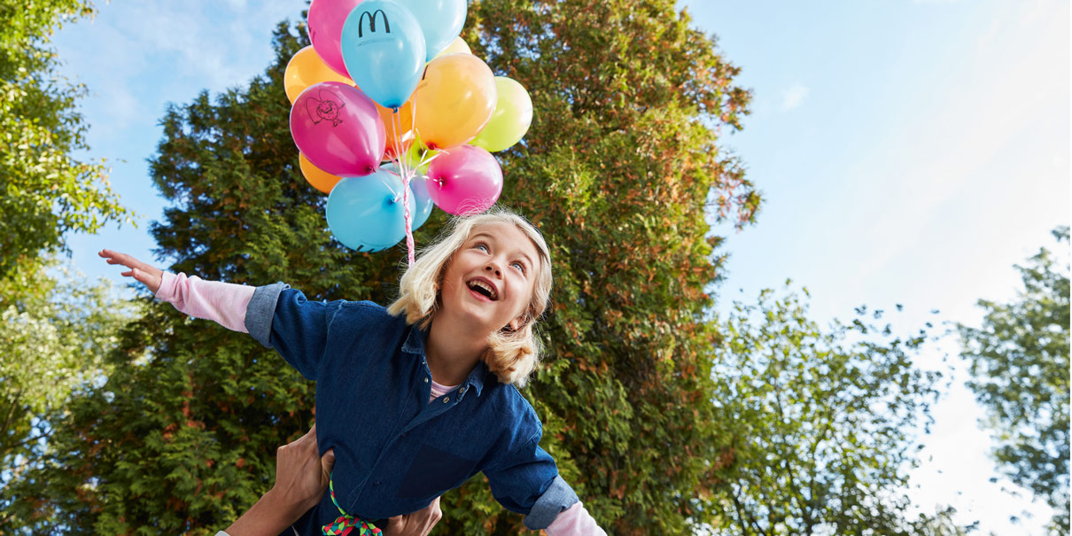 Kindergeburtstag McDonald's